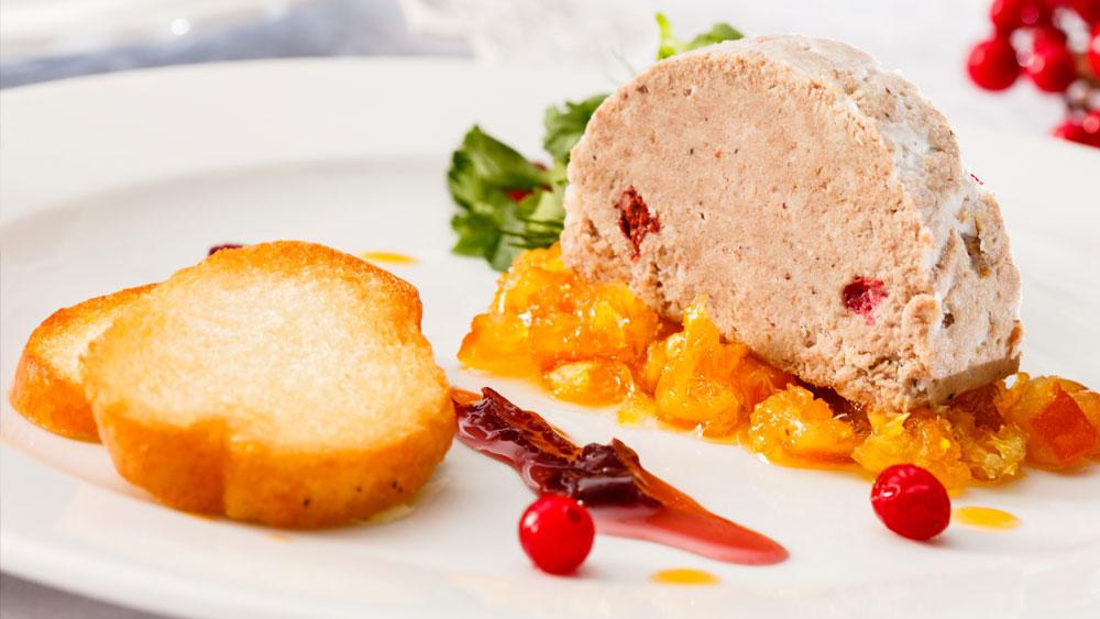 Foies gras de oca y pato