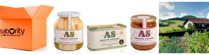 Conservas Adolfo Sádaba artesanas, gourmet y de Navarra