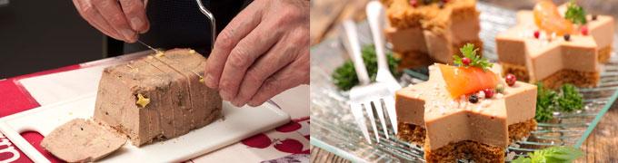 Como cortar y servir el Foie gras de oca o pato