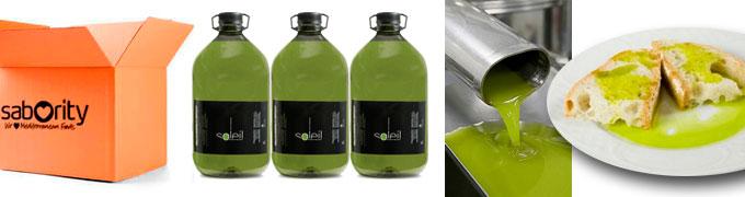 Aceite de oliva de primera prensada - Oli del Raig
