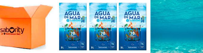 Agua de mar alimentaria en sabority.com