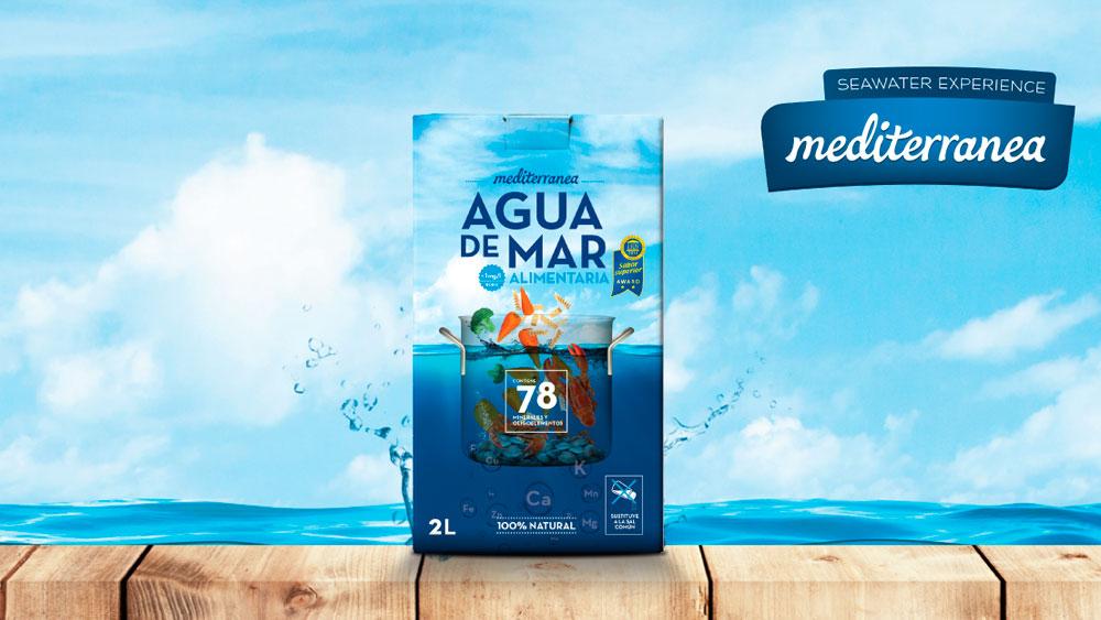 Beneficios del agua de mar alimentaria