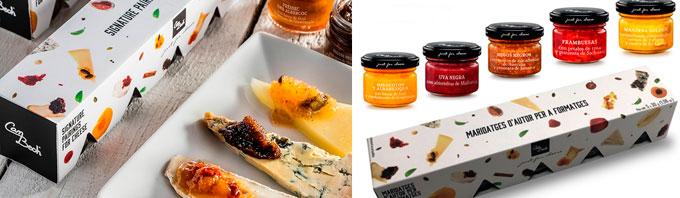 Pack de 5 mermeladas para maridar con quesos Just for Cheese