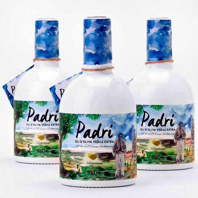Aceite de Oliva Premium Padrí de Mas Montseny