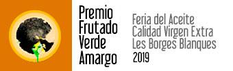 Premio frutado verde amargo 2019
