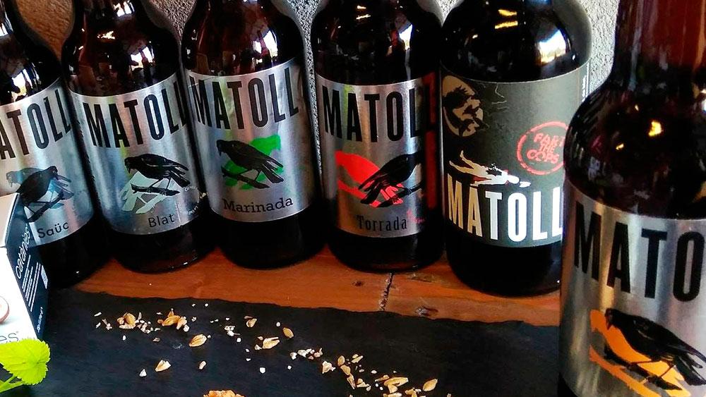 Matoll cervezas artesanas premium