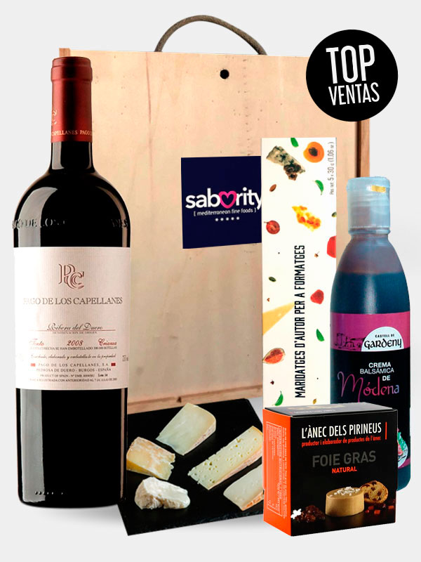Pack regalo gourmet maridaje quesos