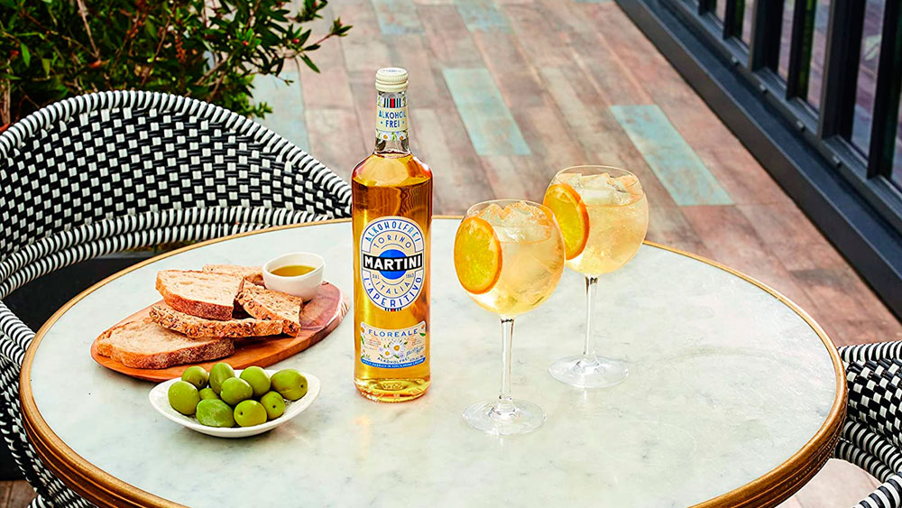 Vermut sin alcohol Martini Blanco Floreale