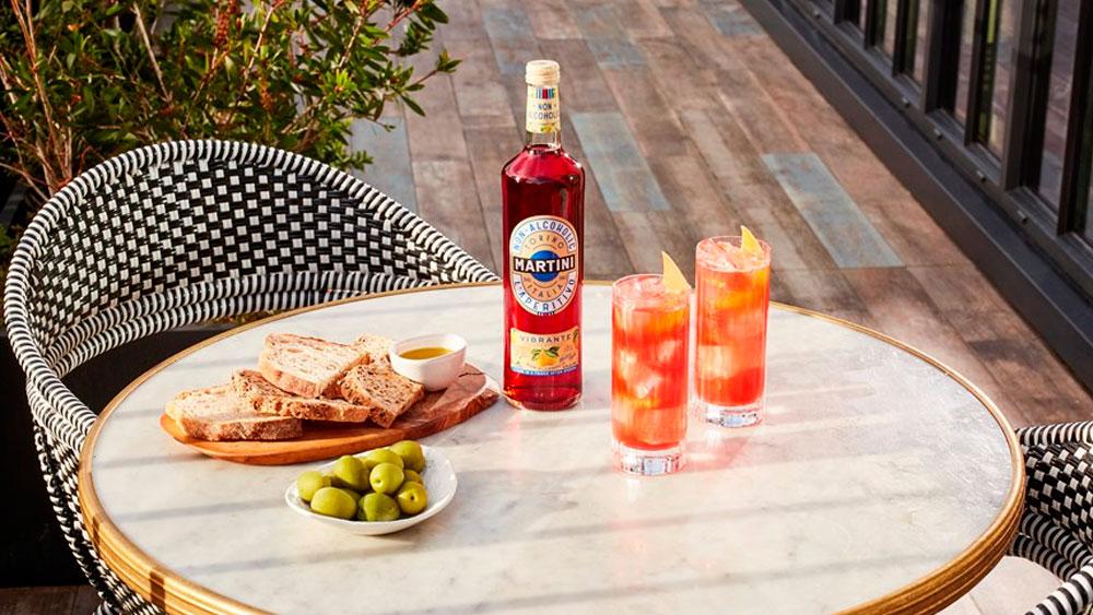 Vermut sin alcohol Martini Rojo Vibrante