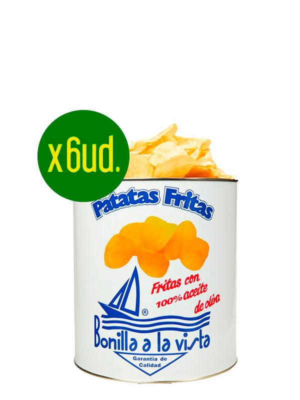 Oferta Patatas Bonilla lata pequeña de 275grs.