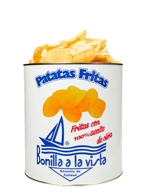 Patatas Fritas Bonilla en lata de 500grs.