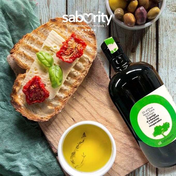 Aceite de oliva Olicatessen coupage de Arbequina y variedades recuperadas